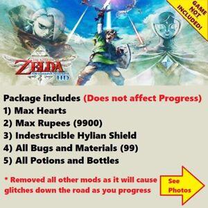 The Legend of Zelda Skyward Sword HD (Switch Save Edit), NOT A GAME