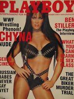 Playboy November 2000 | Chyna WWF Buffy Tyler   #852+