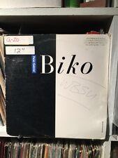"Peter Gabriel - Biko 2 Versions + No More Apartheid  3 Song  12"" EP Promo  VG+"
