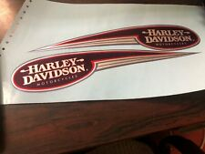 NEW FXR Dyna Gas Fuel Tank Decals Stickers Pair Set Harley Low Rider Super Glide
