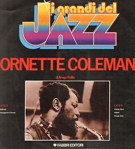 Ornette Coleman  I Grandi Del Jazz n.11 - 1979 Fabbri Editori Italy - GdJ 11