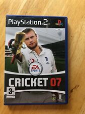 PS2 Play Station 2 game Cricket 07 EA Sports PS2