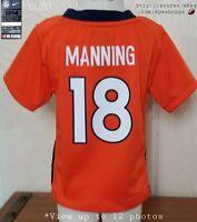 NFL Denver BRONCOS Peyton Manning #18 NIKE ON-FIELD Jersey Baby Toddler 12 Mos