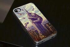 Paresseux Drôle King Kong New York étui Pour téléPhone iPhone 4 4s 5 5s 5c 6