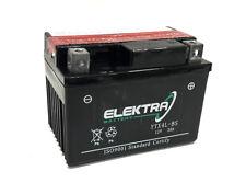 Batería YTX4L-BS ELEKTRA, 12v. 3Ah. Sin Mantenimiento