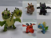 Bundle How To Train Your Dragon Mini Figures Toys Barf&Belch Toothless Stormfly