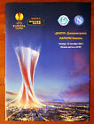 Program Dnepr Dnipro Ukraine - SSC Napoli Naples Italy 2012/2013 Europa League