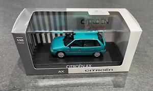 Original Citroen Maquette de Voiture Ax Vert Polynésie 1:43 Citroën AMC0191521