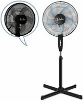 Simple Deluxe Oscillating 16″ 3 Adjustable Speed Pedestal Stand Fan with Cover
