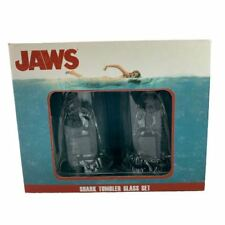 Jaws Shark Glass Tumbler Set