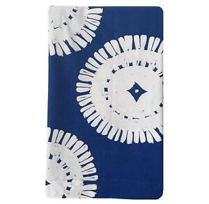 Project 62 Medallion Blue/White Shower Curtain 100% Cotton