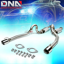 "FOR 96-04 MUSTANG GT V8 SN95 4""ROLLED TIP STAINLESS STEEL EXHAUST CATBACK SYSTEM"