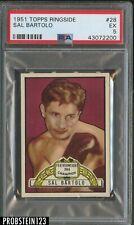 1951 Topps Ringside Boxing #28 Sal Bartolo PSA 5 EX