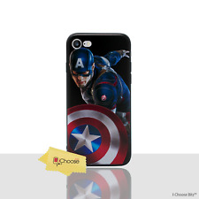 3d Marvel Case/cover Apple iPhone 5 5s SE Screen Protector / Silicone Swing