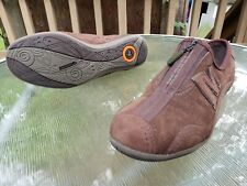 Women's Merrell Arabesque Brown Leather Walking Shoes Size 6 / 36