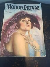 Motion Picture Magazine October 1922 Movie Star Marie Prevost  On Cover