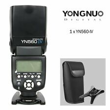 YONGNUO YN-560 IV Wrieless Flash Speedlite for Canon Nikon DSLR & RF-605 UK