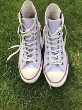 Converse Chucks All Star high mit Reißverschluss, flieder lila, Größe 41 / 7 1/2
