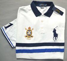 New XXL Polo Ralph Lauren Big Pony shirt classic fit short sleeve white top 2XL