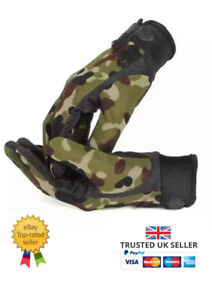 Full Finger Gloves Mens Army Military Combat Airsoft Shooting Paintball Cycling