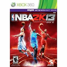 NBA 2K13 For Xbox 360 Basketball Very Good 0E