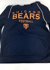 Chicago Bears Breathable Sweatshirt With Hoodie - Kids Size Small