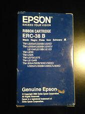 CARTOUCHE ENCRE ORIGINAL EPSON ERC-38 B  C43S015374