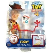 Wacky Action Pull 'N Go FORKY Toy Story 4 Mattel Disney Pixar