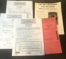 Rowe AMI Instructions Lot Keyboard Sound Warranty Netstar Flyer
