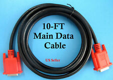 10 FOOT SCANNER DATA CABLE COMPATIBLE SNAP ON SOLUS PRO MODIS MT2500 MTG2500 NEW