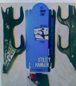 E-Z Mount Black Truck SUV RV Gun Rack or Utility Hanger 200 BL