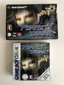 PACK PERFECT DARK NINTENDO 64 N64 GAME BOY COLOR GBC PAL ESPAÑA ORIGINAL