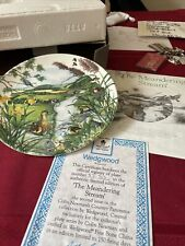 Wedgwood Collectors Plate The Meandering Stream By Colin Newman Boxed