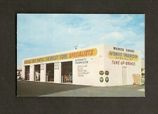 BUSINESS CARD:  WARREN GARAGE - No. HOLLYWOOD, FLORIDA - AUTOMOTIVE SHOP, 1950s