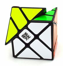 Moyu Yj Crazy Fisher Speed Cube Puzzle Black Educationnal toy For child Gift K