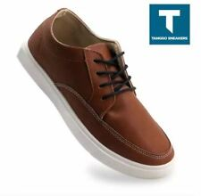 Arnie Mens Fashion Shoes Casual Sneakers - (BROWN)  SIZE 43