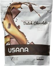 USANA Dutch Chocolate Nutrimeal - Healthy Meal Replacement, 1 lb 3oz - NO TAX