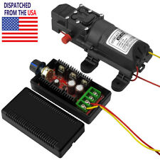 100 PSI Diaphragm Water Self Priming Pump + DC Motor Speed  RC Control PWM HHO