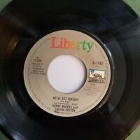 KENNY ROGERS SHEENA EASTON WE'VE GOT TONIGHT 45 Liberty B-1492 1983 Q