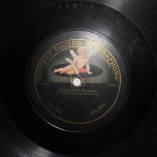 """RARE CONCERT RECORD """"GRAMOPHONE"""" , CELLO - W. H. SQUIRE & H. GRUNFELD"""