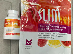 NEW & SEALED- PLEXUS SLIM MICROBIOME AND METABURN