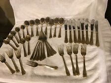 39 pcs Hampton Gold Plated Stainless flatware KATRINKA Near complete service f/8