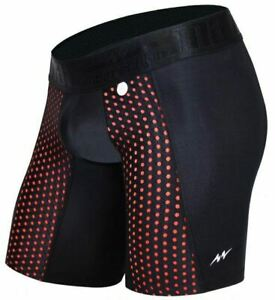 Mao USA Sport Underwear Compression Long Underwear MicroFibre Black 111.1 M1