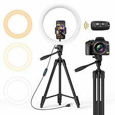 """TONOR 12"""" Selfie Ring Light with Tripod Stand, Bluetooth Remote Shutter with"""
