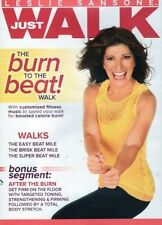 Walk Aerobics Exercise DVD LESLIE SANSONE JUST WALK BURN TO THE BEAT WALK DVD