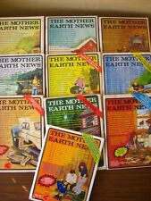 lot THE MOTHER EARTH NEWS homestead lifestyle 70s magazine green organic garden