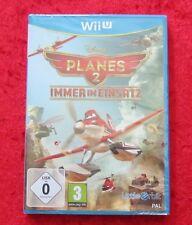 Disney Planes 2 Immer im Einsatz, Nintendo WiiU Spiel, Neu OVP, deutsche Version