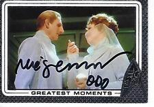 RENE AUBERJONOIS SIGNED 2017 STAR TREK 5OTH ANNIV GREATEST MOMENTS #59 - ODO