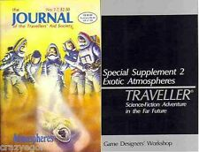 Traveller- Journal of Travellers Aid Society #17 Exotic Atmospheres Sup GDW FS