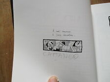 ALBUM BD CATTANEO slim entropie mon amour eo 1997 signe preface de moebius
